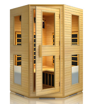 JNH Lifestyles 2-3 Person Far Infrared Sauna