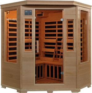 Heat Wave 3 Person Blue Wave Infrared Sauna
