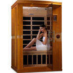 DYNAMIC SAUNAS Venice 2-Person Far Infrared Sauna