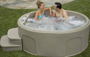 Lifesmart Rock Solid Luna Spa with Plug