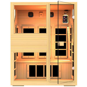 JNH Lifestyles NE3HB1 ENSI 3 Person Infrared Sauna