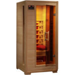 Radiant Saunas 1-2 Person Hemlock Infrared Sauna