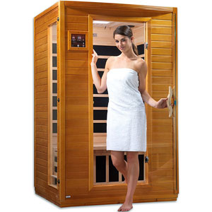 DYNAMIC SAUNAS Andora 2-Person Far Infrared Sauna