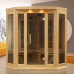DYNAMIC SAUNAS Maxxus Reims 3-Person Sauna