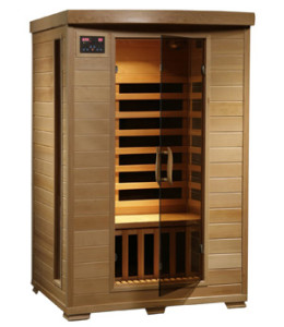 Radiant Saunas BSA2409 2-Person Hemlock Infrared Sauna