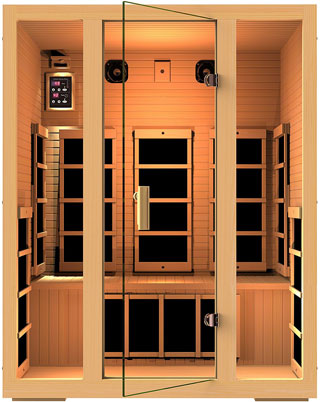 JNH Lifestyles Joyous 3 Person Sauna