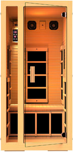 JNH Lifestyles Joyous 1 Person Sauna