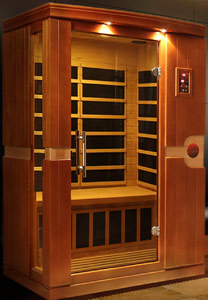 DYNAMIC SAUNAS AMZ-DYN-6210-01 Venice Far Infrared Sauna