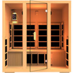 JNH Lifestyles Joyous 4 Person Far Infrared Sauna