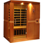 DYNAMIC SAUNAS Madrid 3-Person Far Infrared Sauna