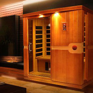 DYNAMIC SAUNAS Madrid 3 Person Far Infrared Sauna