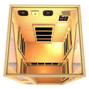JNH Lifestyles ENSI Collection 1 Person Infrared Sauna