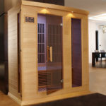 DYNAMIC SAUNAS Maxxus Marseille 3-Person Sauna