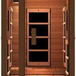 JNH Lifestyles Freedom 1 Person Canadian Cedar Wood Sauna