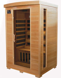Therapuresauna 2-Person Canadian Hemlock Carbon Heater