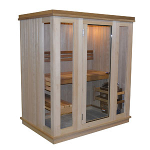 Almost Heaven Saunas Bluestone Indoor Sauna