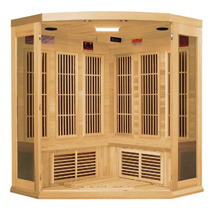DYNAMIC SAUNAS Maxxus Reims 3-Person Infrared Sauna