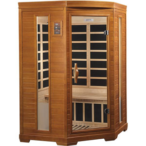 DYNAMIC SAUNAS Bilbao 2-Person Infrared Sauna