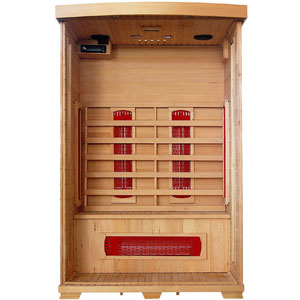 Radiant Saunas 2-Person Deluxe Infrared Sauna