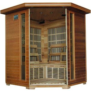 Radiant Saunas BSA1320 4 Person Infrared Sauna